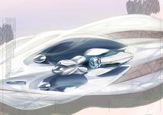 Jaguar Blue Project - interior