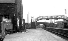 Ecclefechan Station looking South East. Closed in Was also a Signalbox behind the photographer. All demolished. Old Photographs, Train Station, Scotland, Places, Memories, Souvenirs, Old Photos, Remember This, Old Pictures