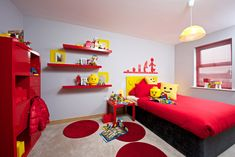 Introducing the first bedroom built entirely with LEGOs.