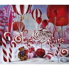 Idea de decoración con caramelos