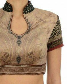 Aari Embroidery & Fashion Designing Classes in Nungambakkam Fancy Blouse Designs, Sari Blouse Designs, Saree Blouse Patterns, Designer Blouse Patterns, Kurta Designs, Blouse Styles, Sari Design, Designer Kurtis, Embroidery Fashion