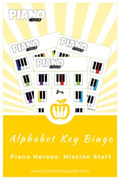 Quick and effective game to reinforce keyboard geography with your youngest piano student!