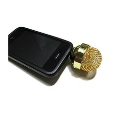MP3 Microphone Speaker - USB rechargeable. No batteries required (built-in rechargeable Lithium Ion battery).