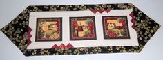 Tuscan Table Runner by PatsysPatchwork on Etsy, $42.00