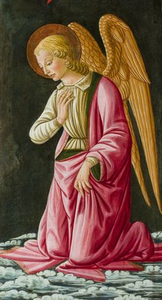 Bernardo di Stefano Rosselli | Kneeling Angel | San Diego Museum Of Art