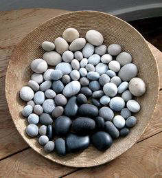 art house - Sania Pell - Freelance Interior Stylist, Consultant and Creative Director, London Palette Deco, Rock And Pebbles, Beach Stones, Beach Rocks, Sticks And Stones, Interior Stylist, Rocks And Minerals, Pebble Art, Stone Art