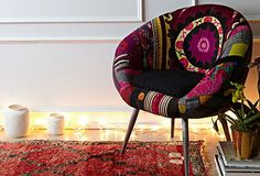 patchwork suzani chair