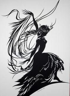 Dance of the Veils (Flamenco Dancer)