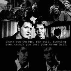 Thank you, Fred and George, for teaching me the value of siblings and how irreplaceable they are.