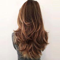 Long Wavy Haircuts, Haircuts For Long Hair With Layers, Haircut For Thick Hair, Layered Hairstyles, Layered Long Hair, Hair Long Layers, Hairstyles Haircuts, Hairstyles For Women Long, Haircut In Layers