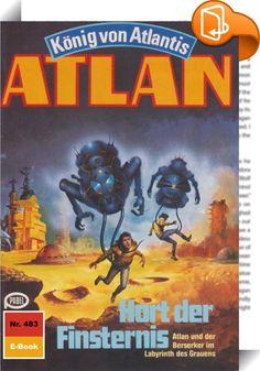 """Atlan 483: Hort der Finsternis (Heftroman)    :  In das Geschehen in der Schwarzen Galaxis ist Bewegung gekommen - und schwerwiegende Dinge vollziehen sich. Da ist vor allem Duuhl Larx, der verrückte Neffe, der für gebührende Aufregung sorgt. Mit Koratzo und Copasallior, den beiden Magiern von Oth, die er in seine Gewalt bekommen hat, rast er mit dem Organschiff HERGIEN durch die Schwarze Galaxis, immer auf der Suche nach weiteren """"Kollegen"""", die er ihrer Lebensenergie berauben kann. D..."""