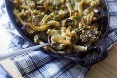 mushroom marsala pasta bake
