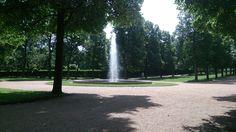 Ansbach Hofgarten Springbrunnen