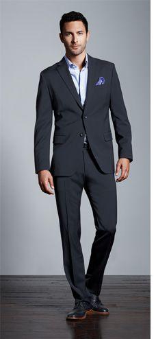 Men's Apparel: fall's best suit   Banana Republic