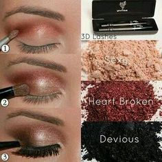 Love this smokey red look. Www.youniqueproducts.com/heatherlynnphillips