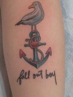 """13. Fall Out Boy and a Cute Lil' Bird"" That is the Patrick's bird from What A Catch, Donnie, excuse you"