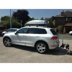 Thule Roof Box And Tow Bar Mounted Cycle Carrier, All Fitted Free At DRB Car