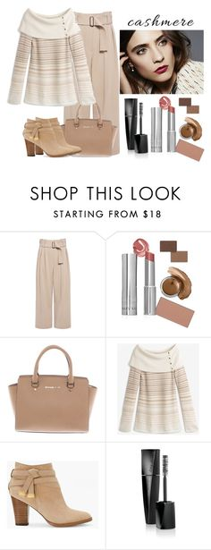 """""""Love Neutrals"""" by margaretkellogg on Polyvore featuring A.L.C., Michael Kors and White House Black Market"""