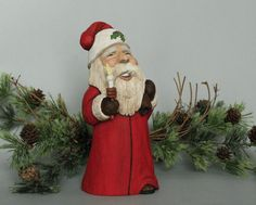 Hey, I found this really awesome Etsy listing at https://www.etsy.com/listing/182336034/hand-carved-santa-claus-wood-carving