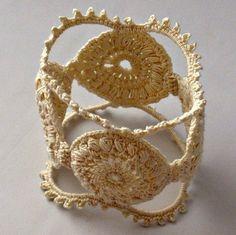 crochet cuff