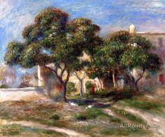 Pierre Auguste Renoir Loquat Trees oil painting reproductions for sale