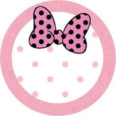 Minnie Mouse: toppers o etiquetas para imprimir gratis