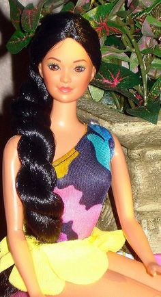 Tropical Miko by Barbie Creations, via Flickr