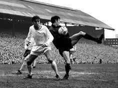 Barry Bridges BCFC  Peter Bonetti Chelsea St Andrews 1968 FAC quarter final