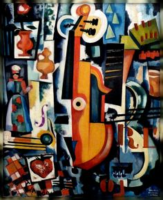 Fan account of Walter Whall Battiss, a South African artist, who was generally considered to be the foremost South African abstract painter. Kunst Online, Online Art, Modern Art, Contemporary Art, Palais Galliera, Modernisme, Art Database, Collage Art, Sculpture Art