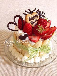 のっちゃん's dish photo バースデーケーキ♥︎