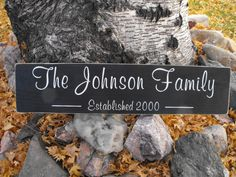 Family sign, more weathered though