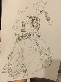 Kim Jung Gi sketch