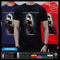 T-Shirt Action Logan Wolverine 3