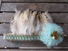 Girls Sparkly Feather Crown Headband Pixie by TheHeadbandAtelier