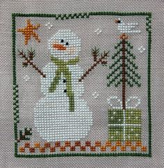 Southpaw Stitcher - Frosty Flakes Little House