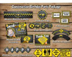 Bau Danke Bau-Geburtstagsfeier Bau Bau-Partei von JcoInvitations