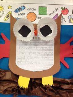 Earth Day Writing Craftivity and Bulletin Board Idea