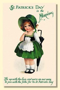 Vintage Illustration Whisper please, Image is sleeping. High quality vintage art reproduction by Buyenlarge. One of many rare and wonderful images brought forward in time. I hope they bring you pleasure each and every time you look at them. St Patricks Day Cards, Happy St Patricks Day, St Patricks Day Pictures, St Patricks Day Quotes, Vintage Greeting Cards, Vintage Postcards, Fete Saint Patrick, Retro, Erin Go Bragh