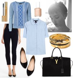 Here's a style board for all you Gamine Girls out there! Find out your TRUE style at http://www.snappycasualconsulting.com #SnappySolutions A really excellent blog post about the gamine style