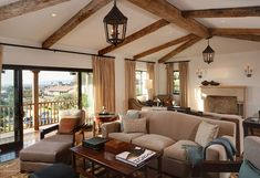 Spanish Arches Architecture Revival Estate Home With Southern Californian Architectural