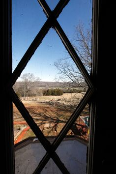 A view of part of the property from the mansion at Belmead on the James in Powhatan County, VA.