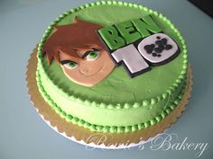 Ben 10 Cake by Rowie's Bakery, via Flickr