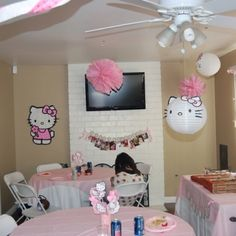 Hello Kitty party... there must be a way I can have a Hello Kitty Party....