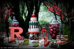 red riding hood birthday party - Pesquisa do Google
