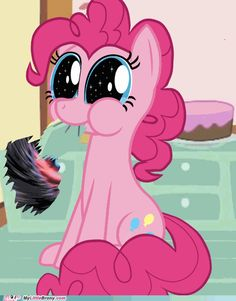 Pinkie can rip apart the time-space continuum any time...