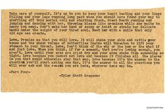 Typewriter Series #884 by Tyler Knott Gregson - LOVE because it finishes the pieces in YOU-