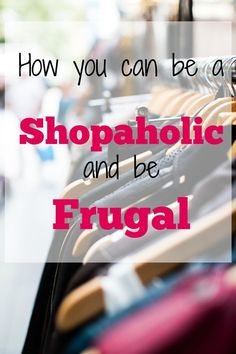 Who says you can't shop and be frugal at the same time? Pinning for later!
