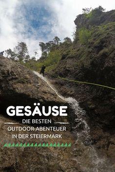 Unterwegs im Nationalpark Gesäuse in der #Steiermark: #Canyoning und #Rafting Touren bieten ein Outdoor #Abenteuer der besonderen Art! Travel Around The World, Around The Worlds, Au Pair, Rafting, Wille, Travel Info, Bergen, Austria, Travel Destinations
