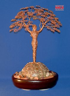 Mother Earth Wire Sculpture