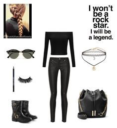 """""""Untitled #429"""" by fashiongirl-8808 ❤ liked on Polyvore featuring Acne Studios, Lord & Berry, Ray-Ban, Borger Shoes and Miss Selfridge"""